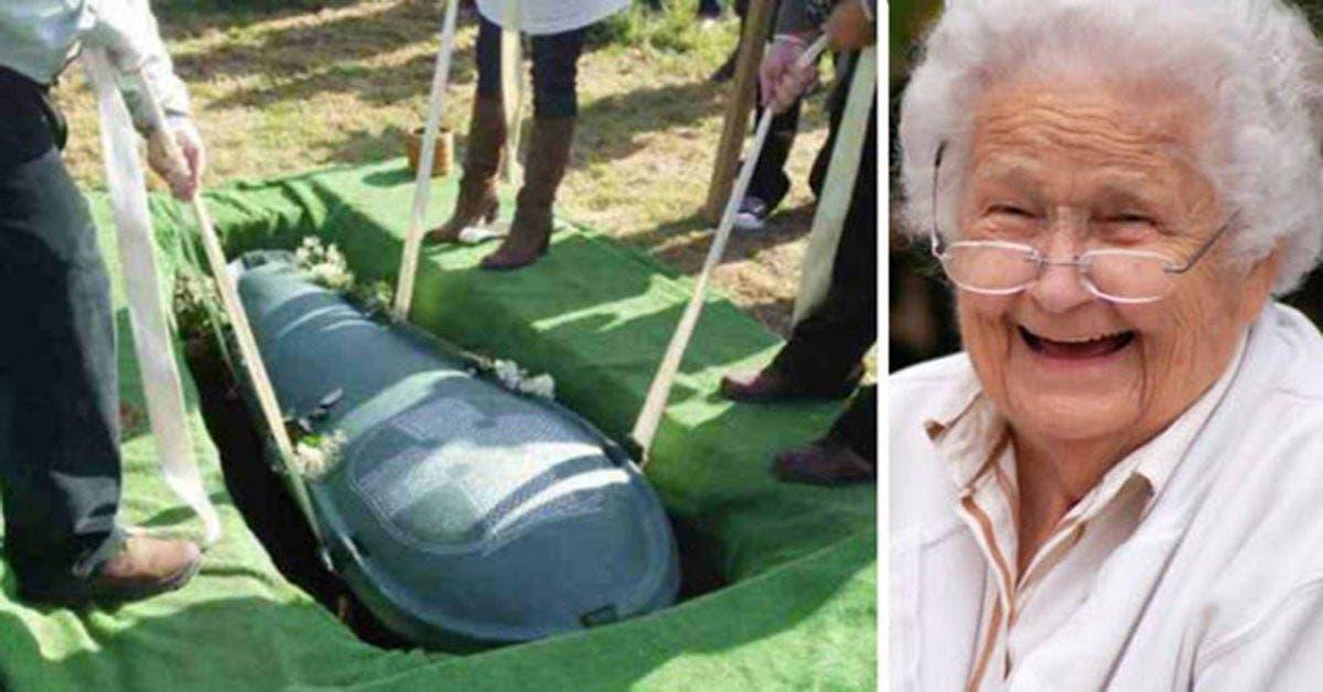 Un mari radin veut être enterré avec sa fortune