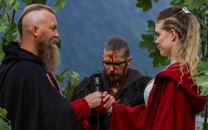 Un mariage Viking