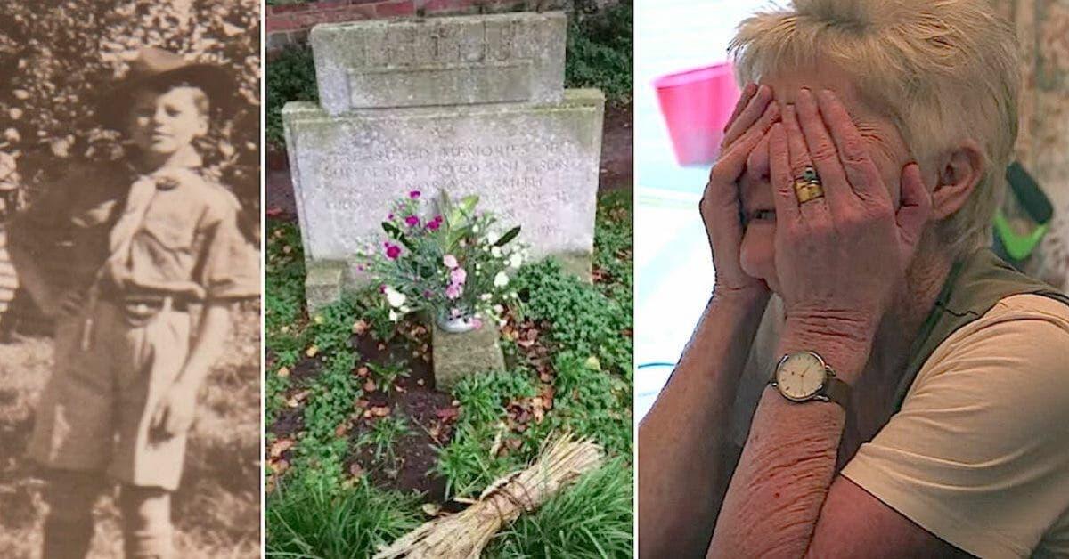 Un mystérieux étranger rend visite à la tombe d'un garçon décédé depuis plus de 70 ans