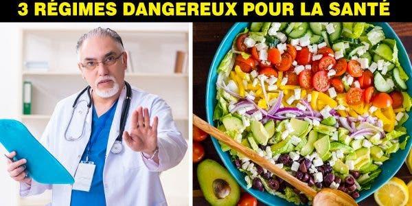 Un nutritionniste met en garde contre ces 3 célébres régimes dangereux pour perdre du poids