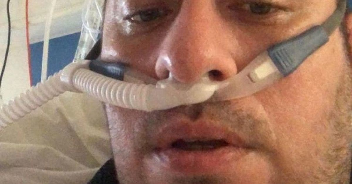 Un papa en bonne sante de 39 ans atteint du coronavirus enregistre une video dadieu pour sa famille 1