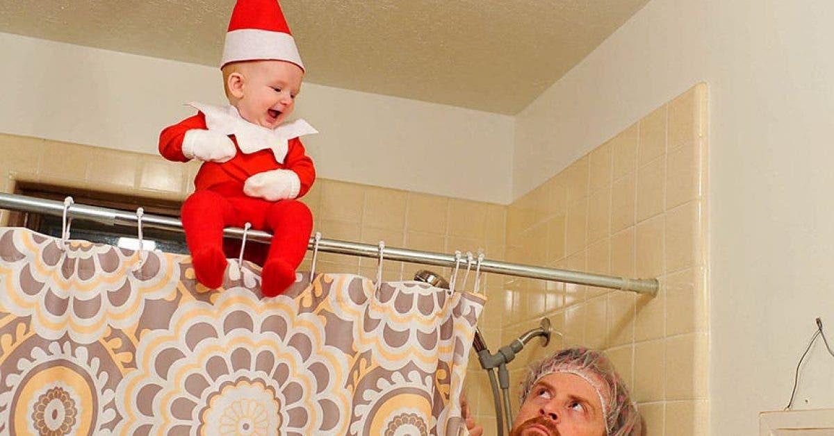 Un papa transforme son bébé en un véritable « elfe »,