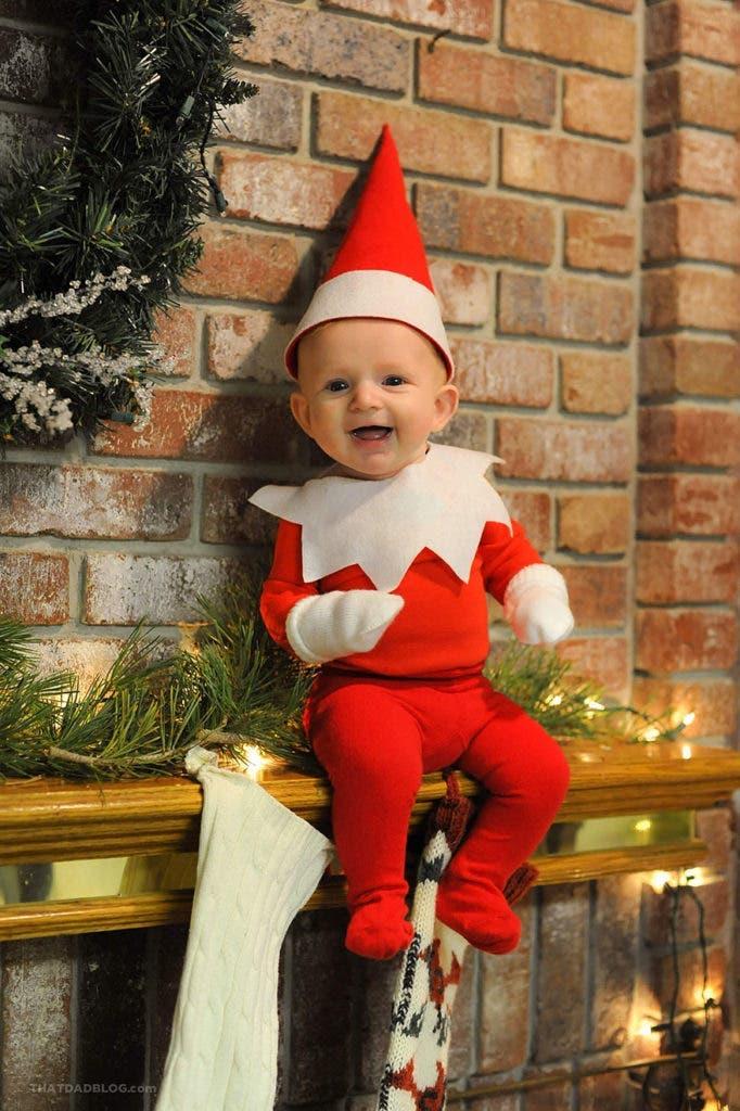 Un papa transforme son bébé en un véritable « elfe »