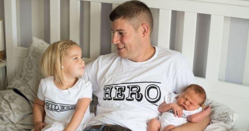 Un père rencontre sa fille qui vient de naître trois heures avant sa mort
