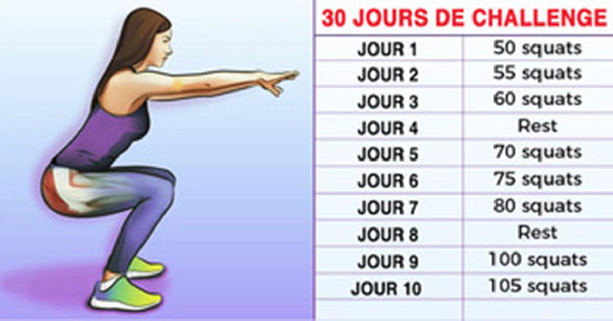 Un programme de 30 jours de squat pour des fesses sculptees et un corps de reve 1 1 1