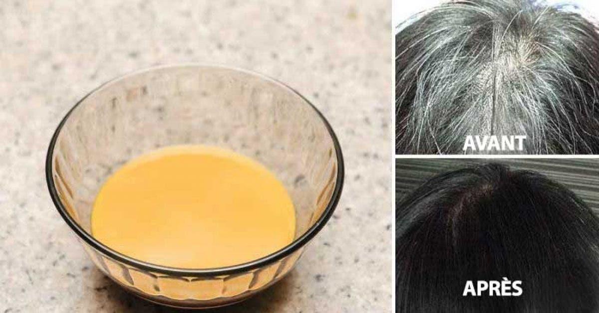 Un remède naturel pour rendre à vos cheveux blancs leur couleur d'avant