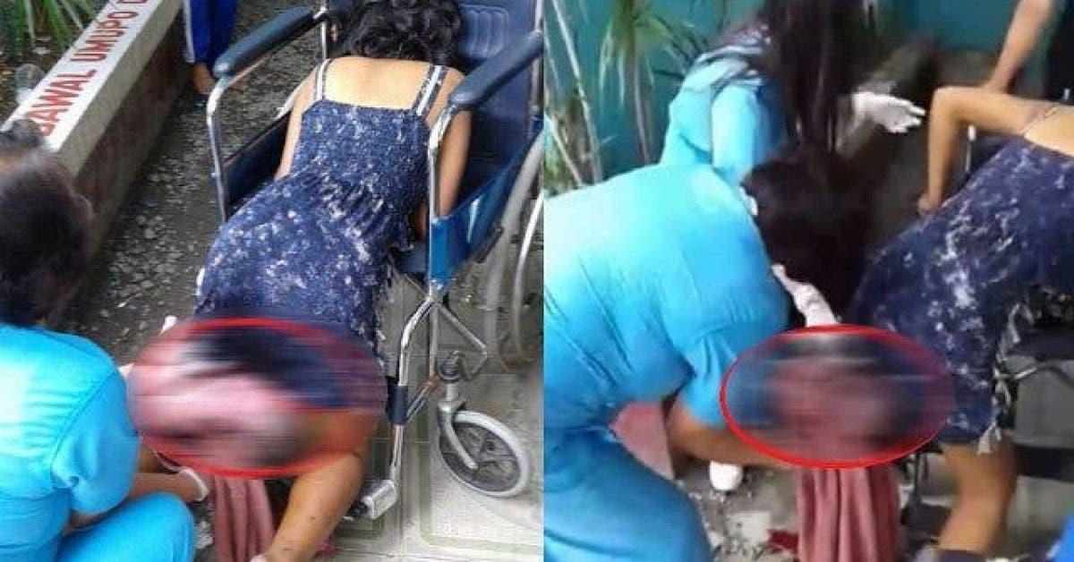 Une SDF accouche à l'extérieur d'un hôpital qui a refusé de la prendre en charge