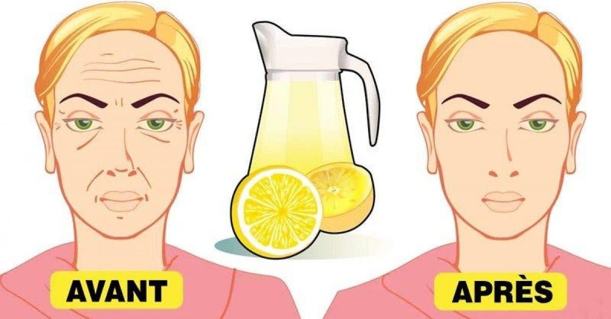 Une ancienne astuce au citron pour éliminer les rides profondes du visage