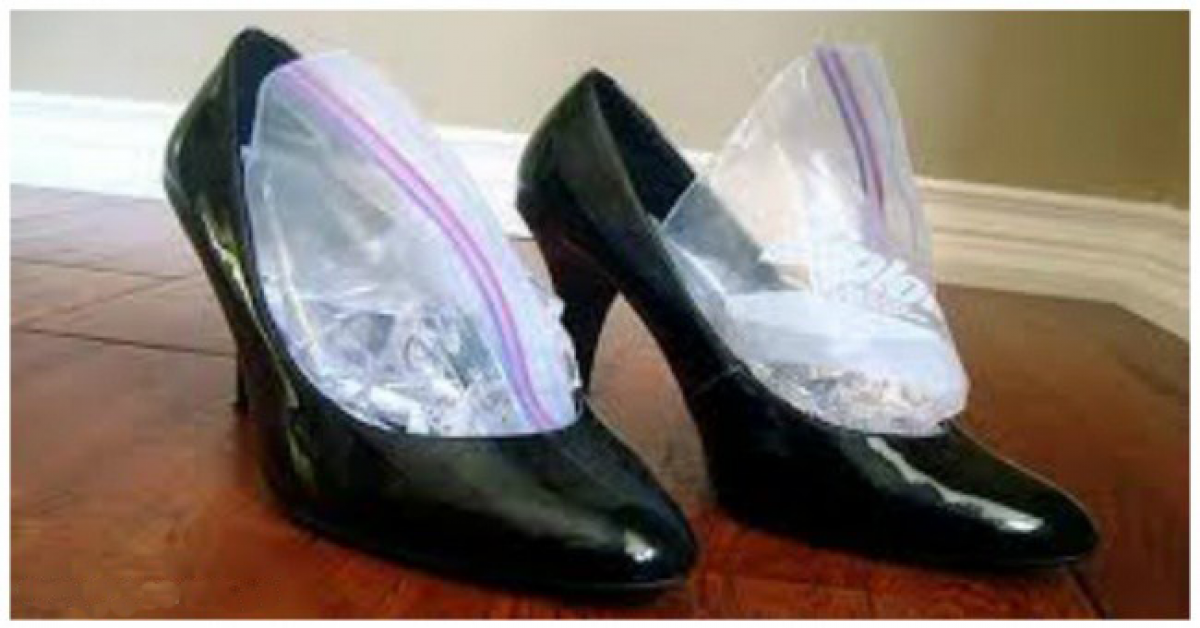 Une astuce de genie pour elargir et assouplir vos chaussures etroites cuir daim 1