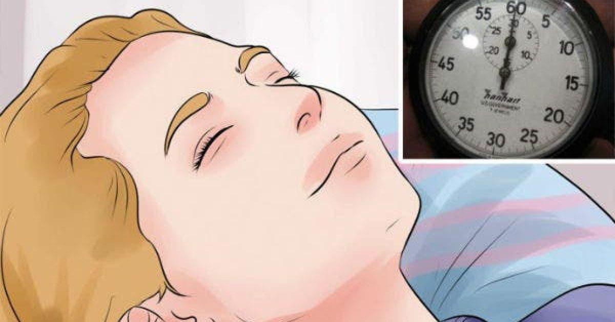 Une astuce dun medecin pour dormir en 60 secondes 1
