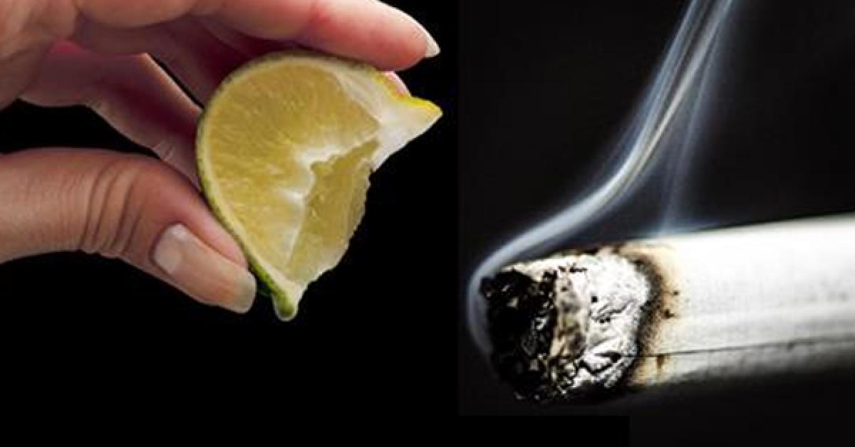 Une astuce géniale pour arrêter de fumer naturellement ! Vous n'aurez plus envie !