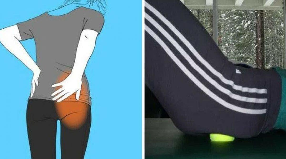 Une balle de tennis pourrait être tout ce dont vous avez besoin pour soulager la sciatique