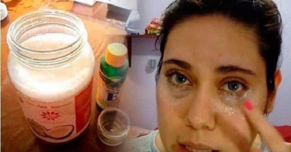 Une crème pour les yeux à 3 ingrédients