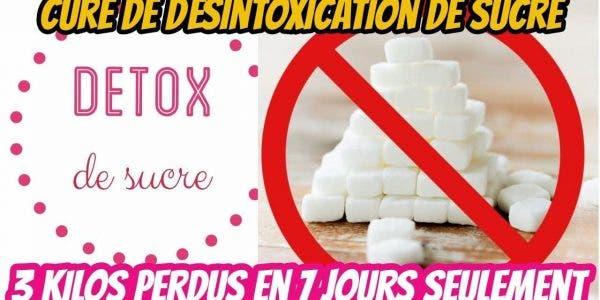 Une cure détox du sucre pour éliminer en 7 jours