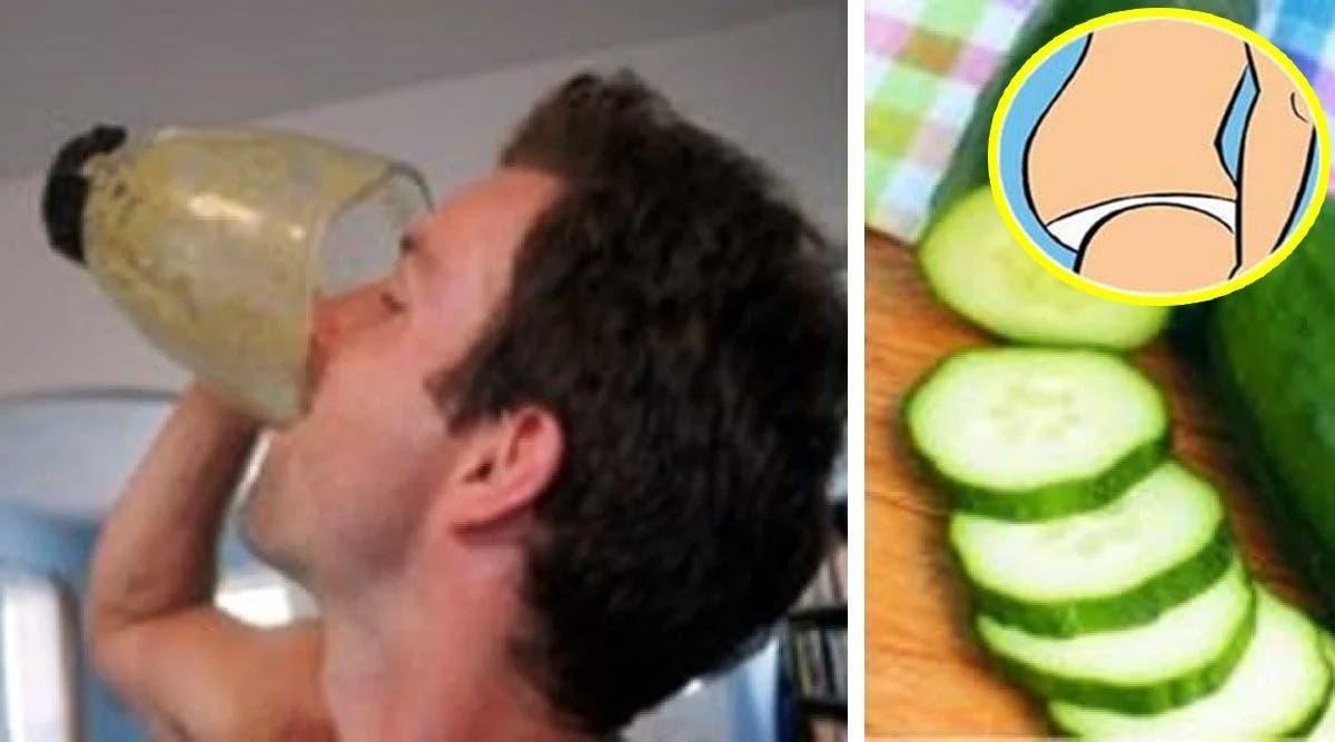 boisson au concombre