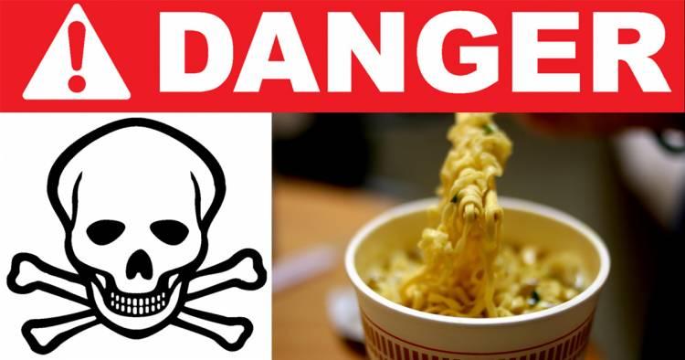 Voici pourquoi les nouilles ne sont pas bonnes pour la santé