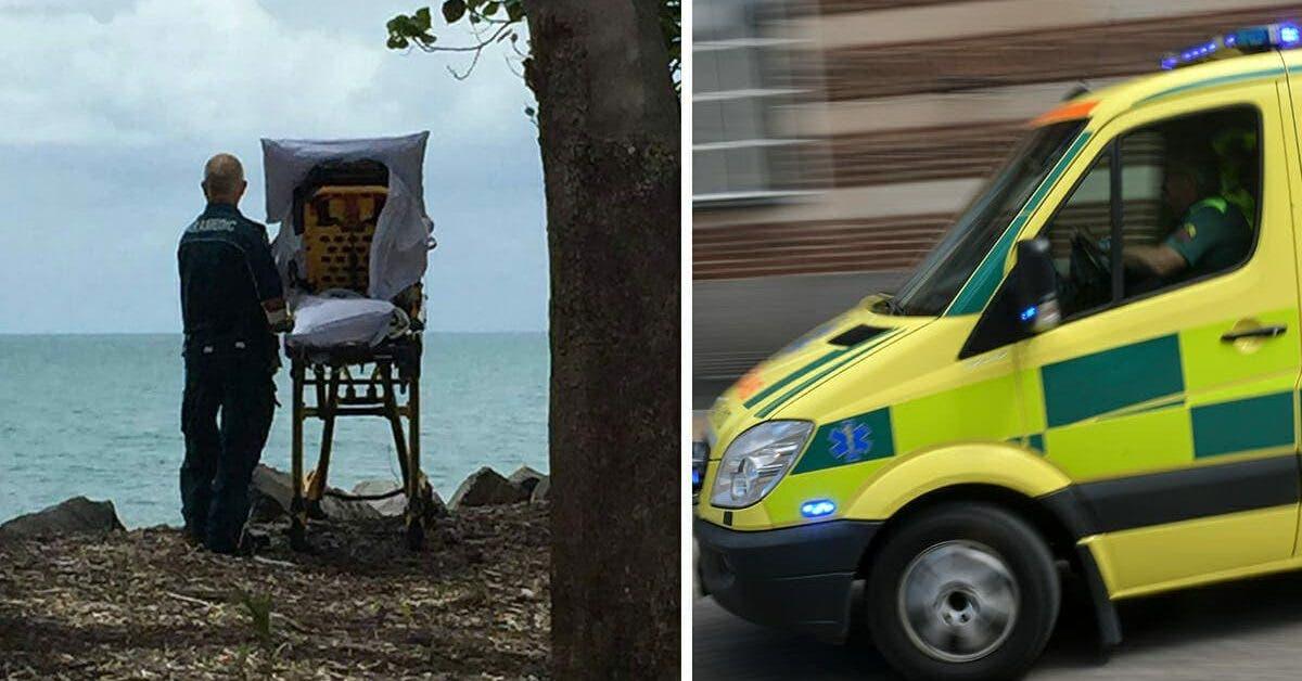 Une équipe d'ambulanciers