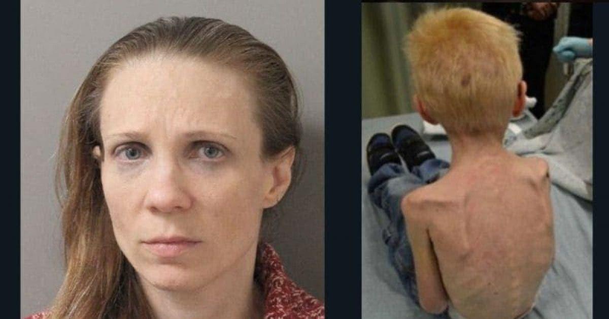 Une femme a affamé et forcé son beau-fils de 5 ans à dormir dans un placard