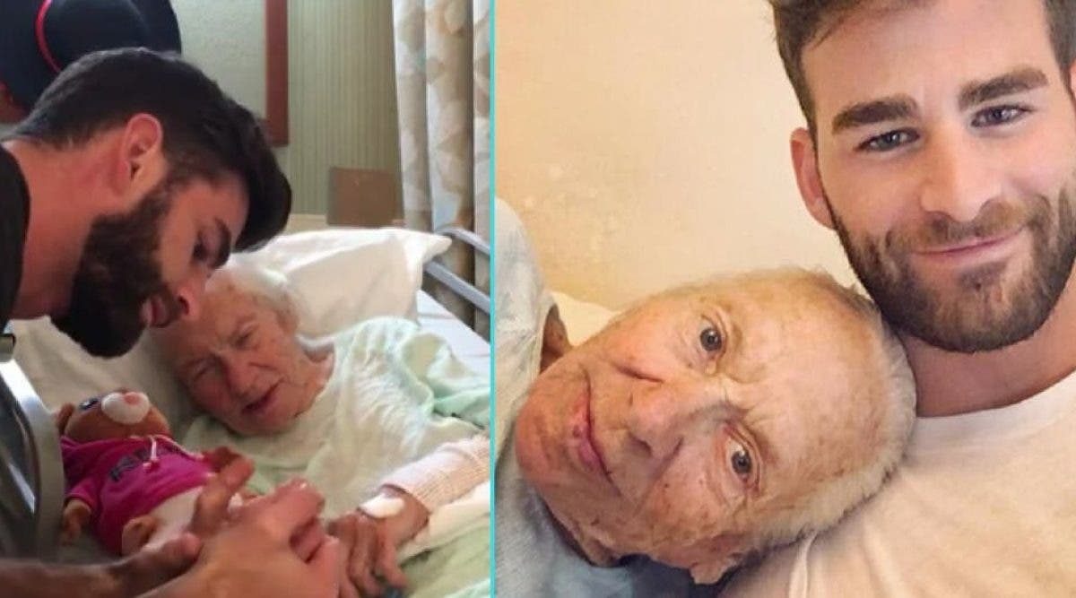 Une femme de 89 ans n'a plus que quelques mois à vivre, son voisin de 31 ans fait un geste remarquable