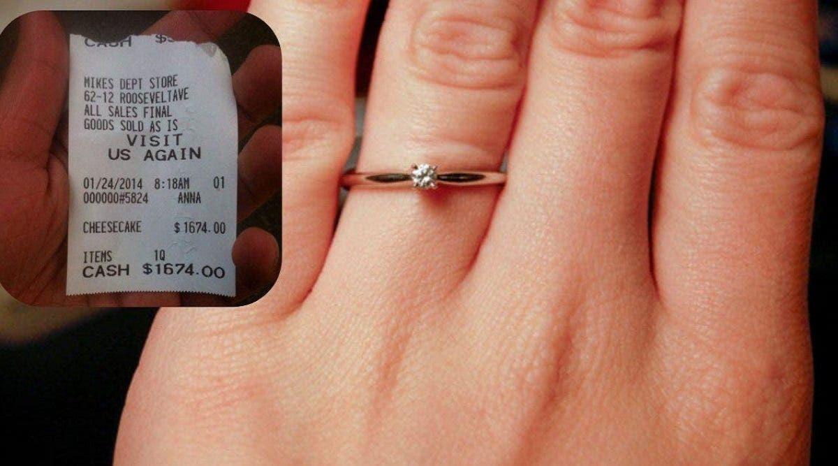 Une femme humilie son petit ami après qu'il lui ait offert une bague « pas chère »