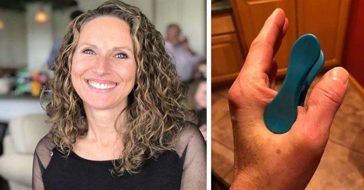 Une femme réussit à se débarrasser d'une migraine à l'aide d'une pince à linge