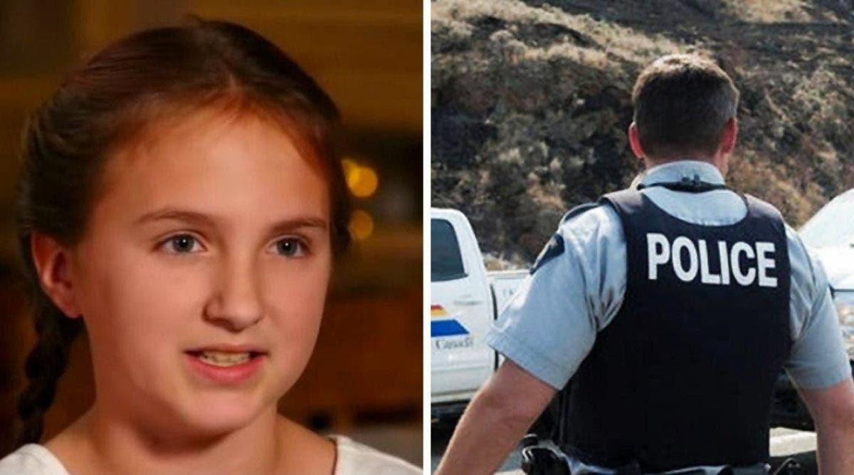 Une fille de 10 ans utilise astuce intelligente pour échapper à un enlèvement.