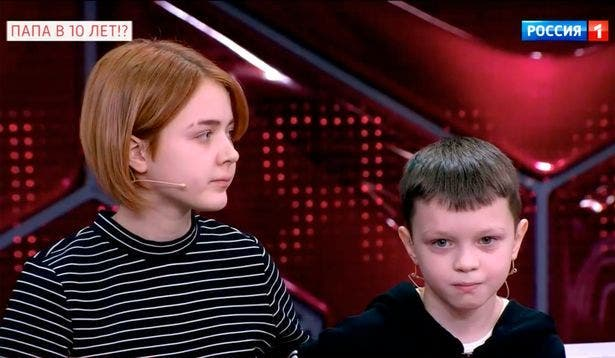 Une fille de 13 ans serait tombée enceinte d'un garçon de 10 ans