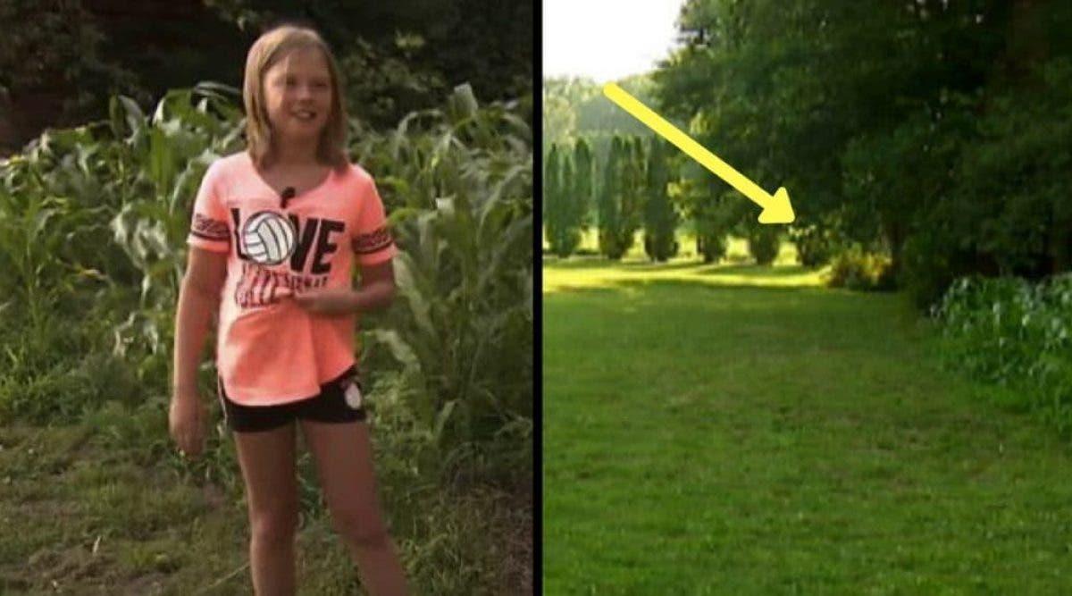 Une fille de 9 ans entend Dieu lui dire de regarder dans les buissons