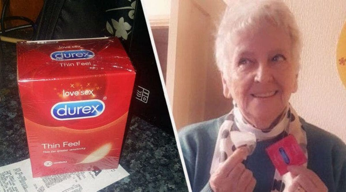 Une grand-mère achète un paquet de 30 préservatifs pensant que ce sont des sachets de thé