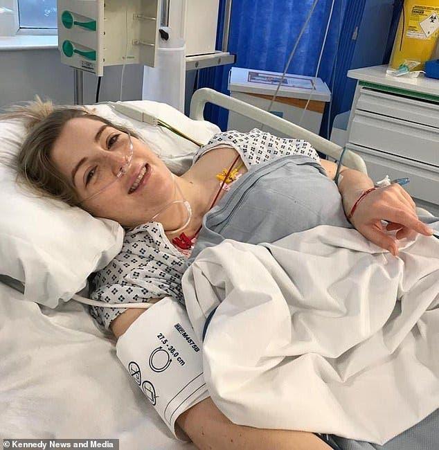 Une jeune femme est paralysée après un AVC