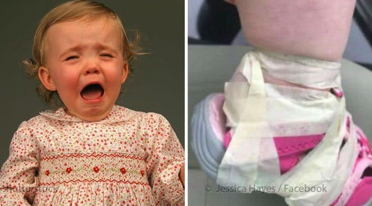 Une jeune maman est furieuse après avoir pris sa fille de la garderie