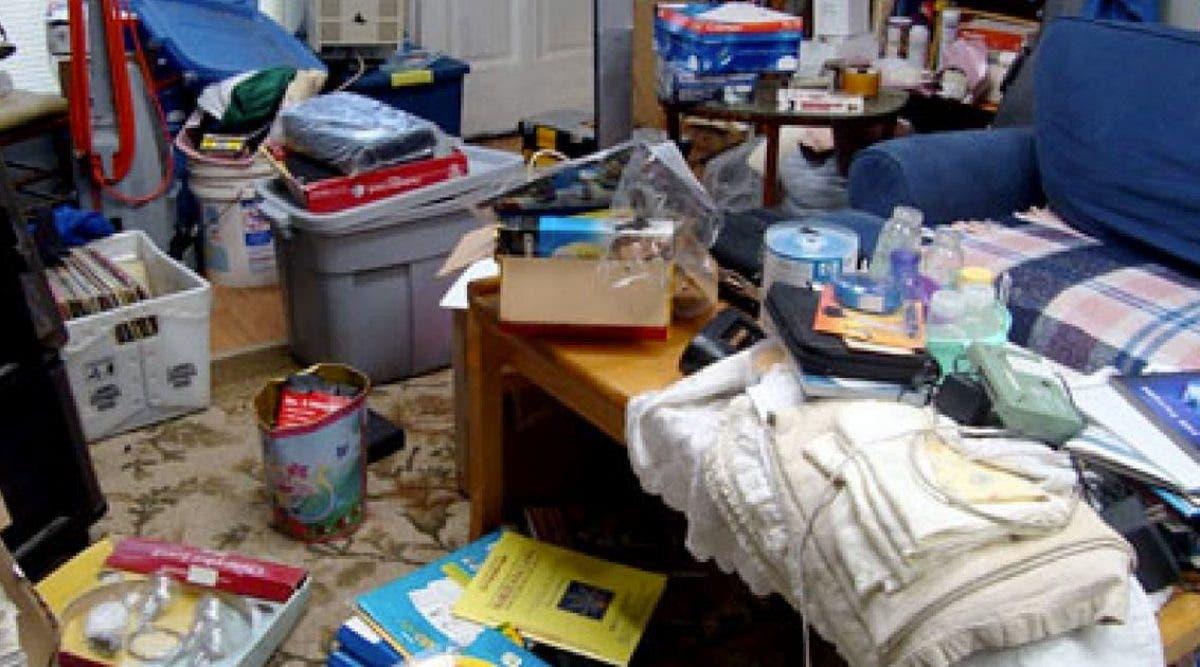 Une maison désordonnée peut provoquer une dépression nerveuse