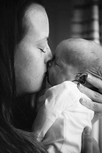 Une maman au coeur brisé