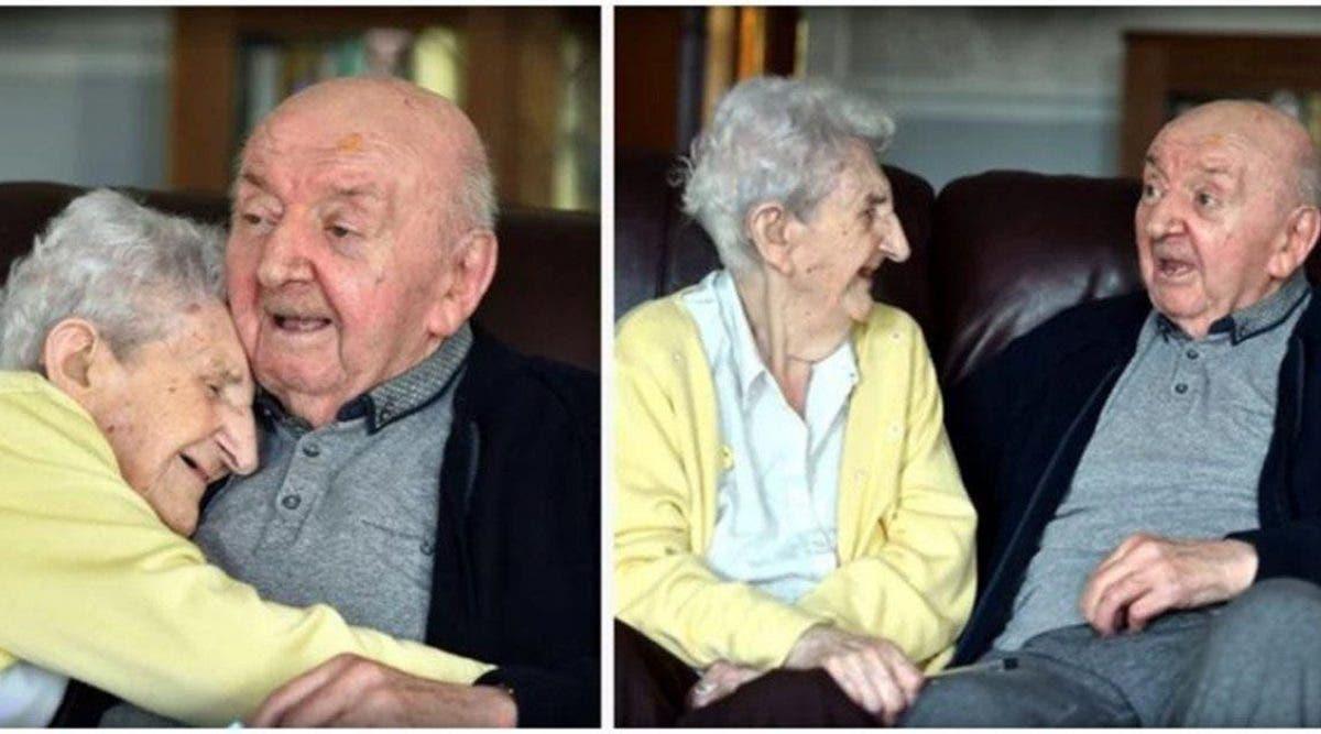 Une maman de 98 ans emménage dans une maison de retraite pour s'occuper de son fils de 80 ans
