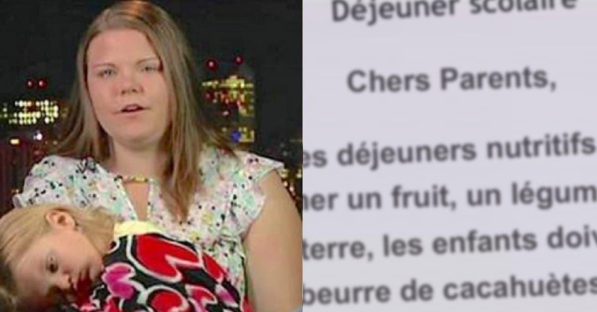 Une mère est furieuse quand sa fille de 4 ans est affamée à l'école