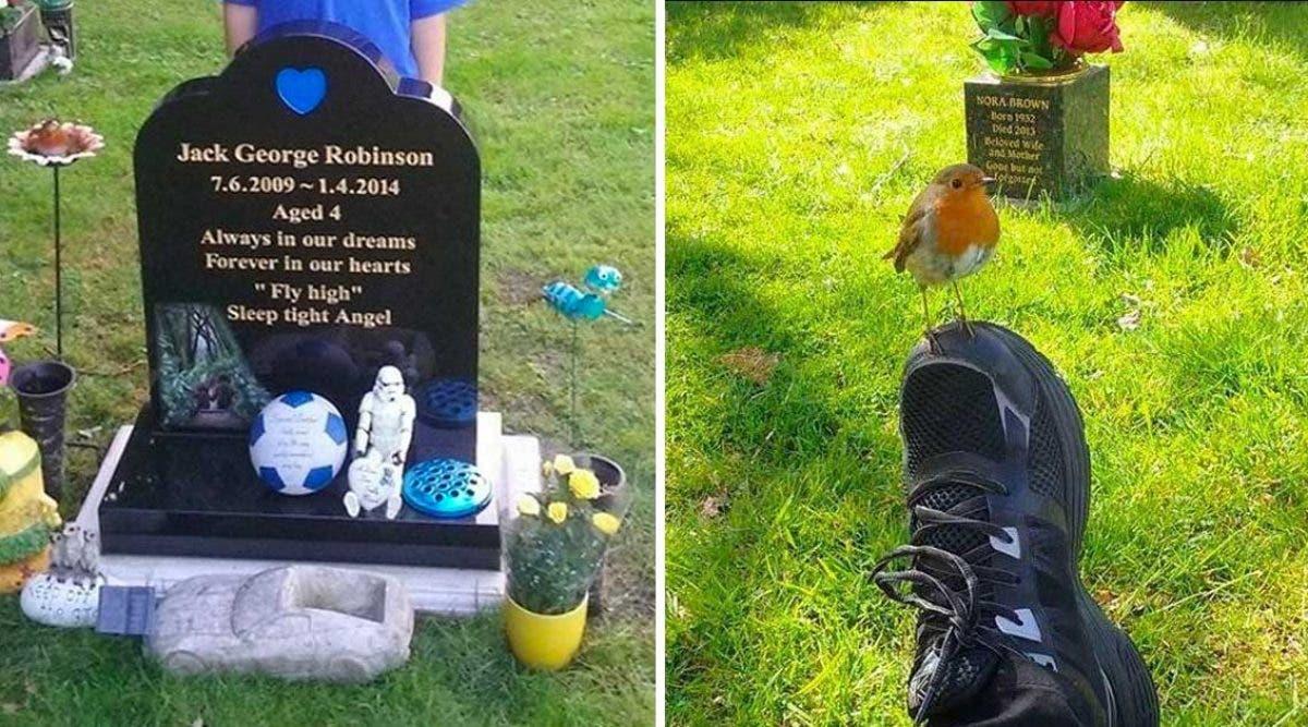 Une mère qui a perdu son fils d'un cancer reçoit un signe en visitant sa tombe