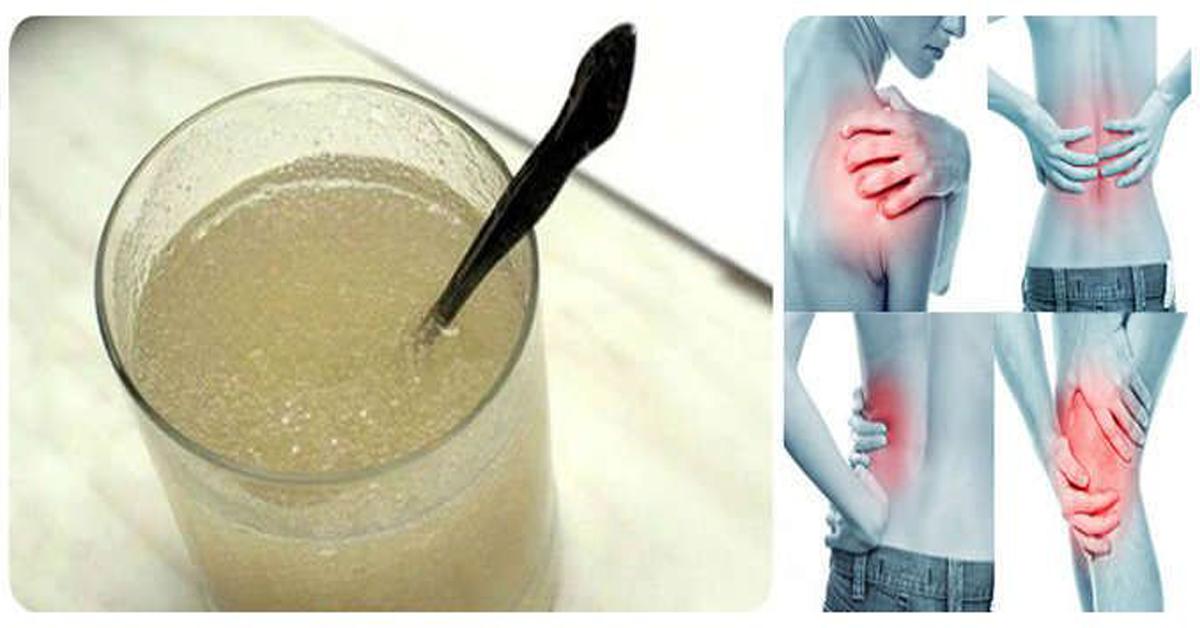 Une recette pour se débarrasser des douleurs au dos