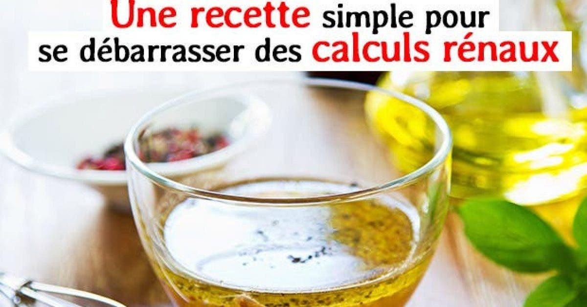 Une recette simple pour se debarrasser calculs renaux11