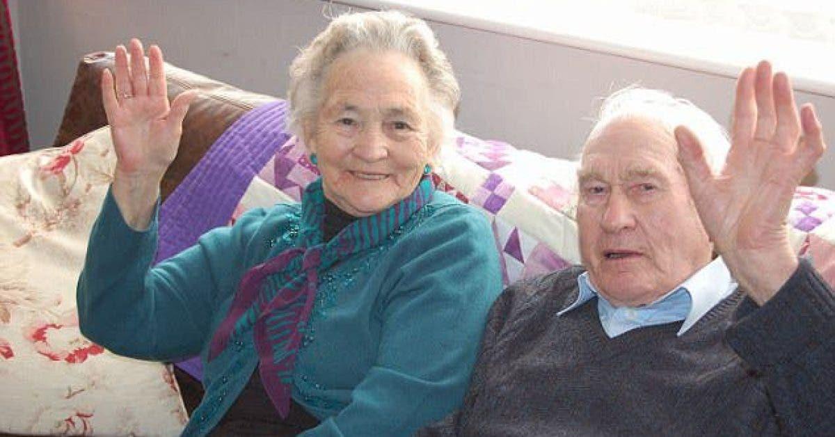 Une vieille dame de 91 ans meurt 4 minutes après son mari de 93 ans ! Vous ne devinerez jamais pourquoi ils sont décédés le même jour