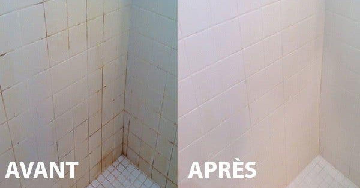 Utilisez ce truc simple pour nettoyer votre salle de bains