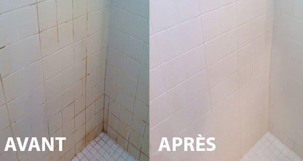 utilisez ce truc simple pour nettoyer votre salle de bains c est 10 fois plus puissant et plus. Black Bedroom Furniture Sets. Home Design Ideas