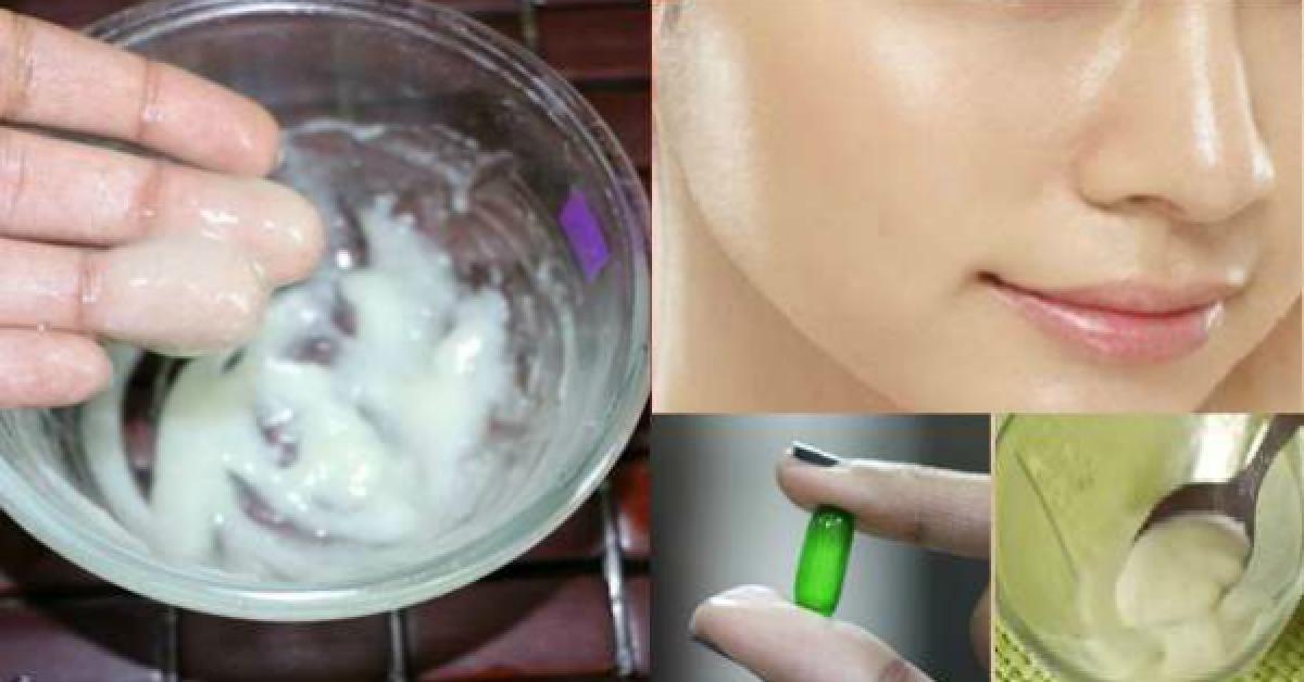 Utilisez cette crème maison pendant 3 nuits et votre peau brillera comme un diamant