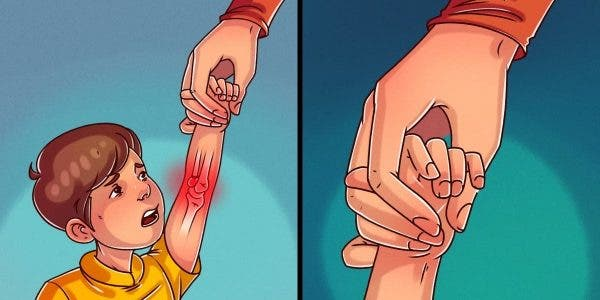 Voici 6 façons courantes de tenir un enfant qui peuvent être dangereuses pour sa santé
