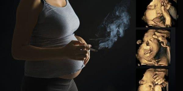 Voici à quoi ressemblent les échographies des fumeuses enceintes