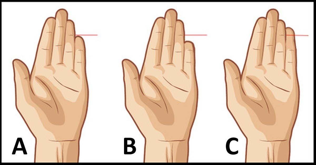 Voici ce que votre petit doigt révèle au sujet de votre personnalité