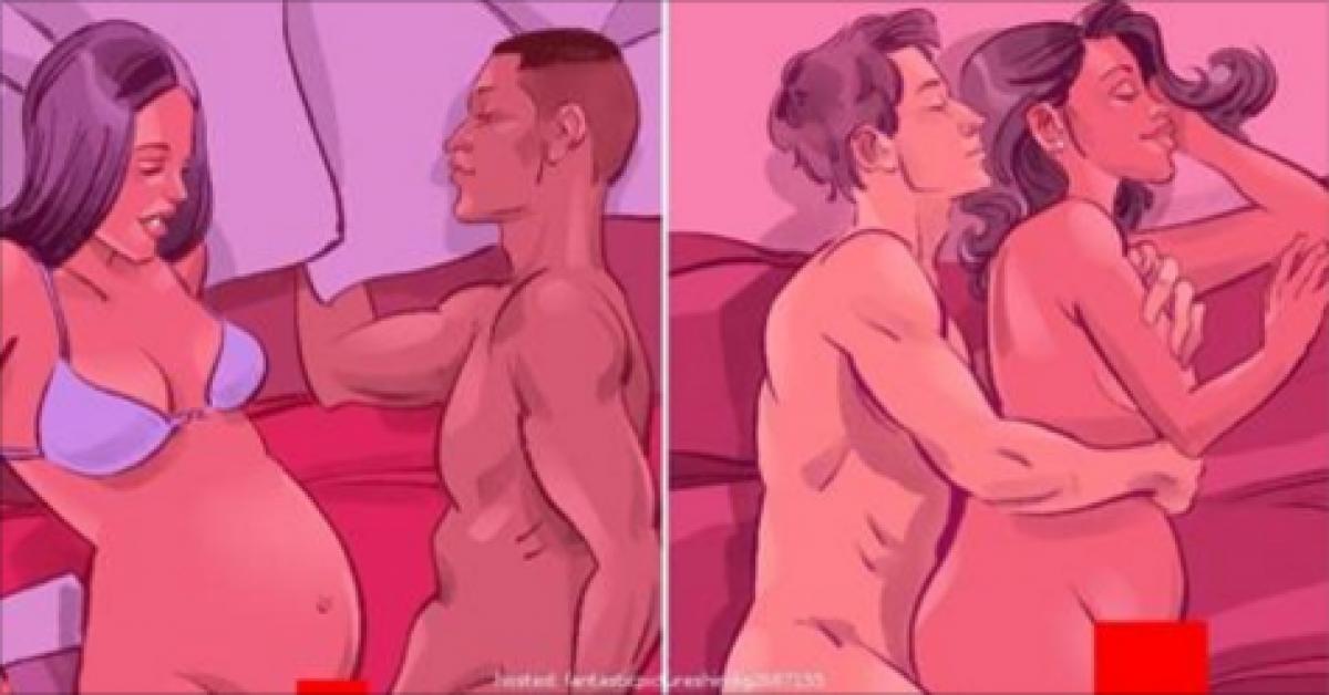 Voici ce qui arrive quand un homme fait l'amour à une femme enceinte !