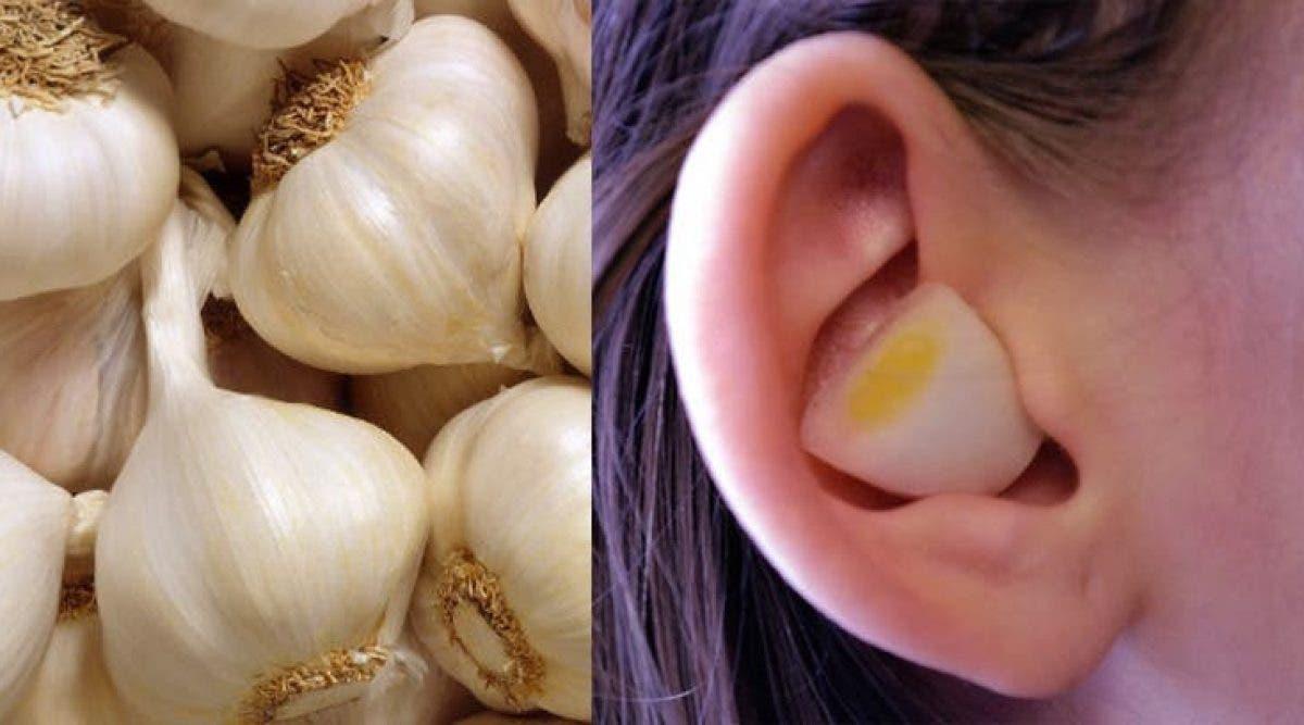 Voici ce qui arrive quand vous mettez une gousse d'ail dans votre oreille avant d'aller dormir