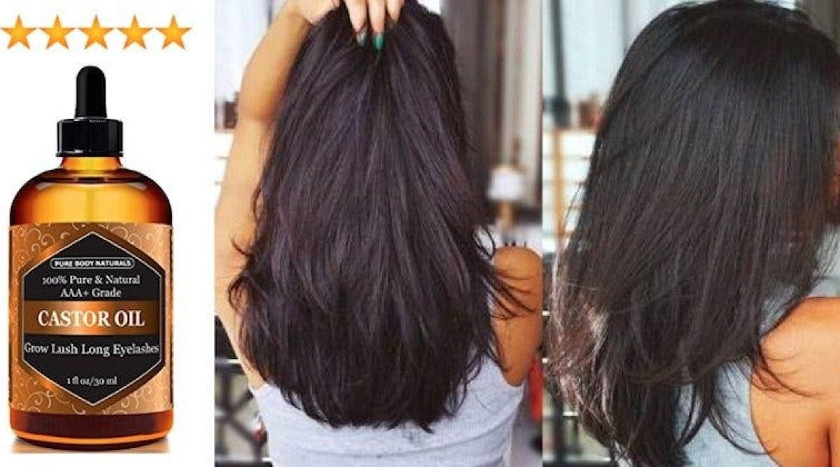 Voici comment appliquer l'huile de ricin pour faire pousser des cheveux épais et sublimes