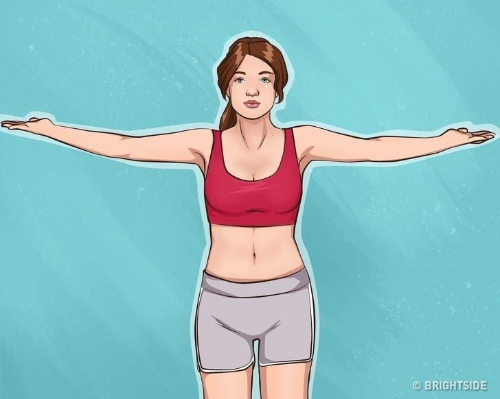 comment avoir des bras fermes et une jolie poitrine