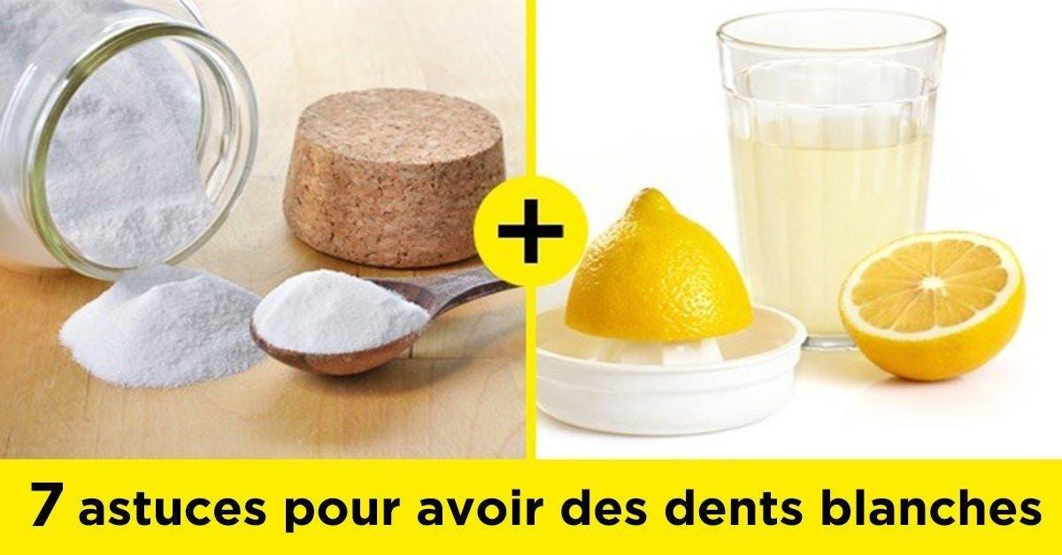Voici comment avoir des dents blanches avec du bicarbonate de soude 1 1 1